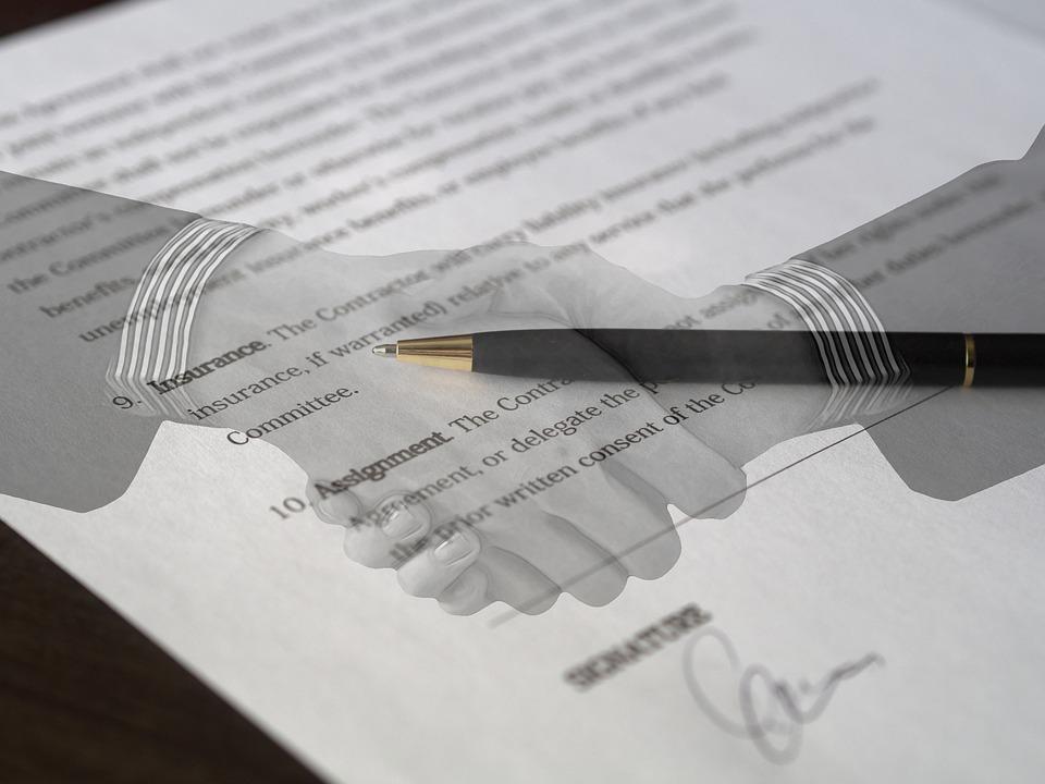 zmluva, dohoda